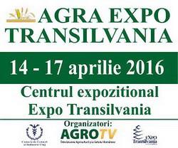 14 aprilie 2016 - Targul AGRA EXPO TRANSILVANIA