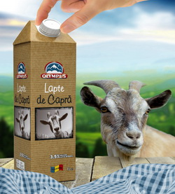 Lapte de capra de la ferme romanesti