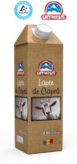 Lapte de capra de la ferme romanesti - ambalaj de carton Tetra Gemina Aseptic
