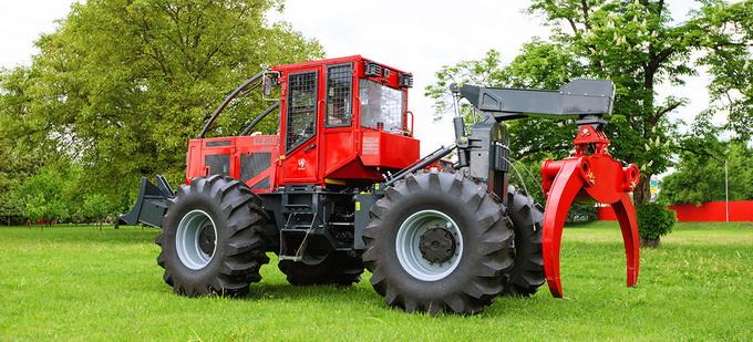 Noul model de tractor forestier IRUM