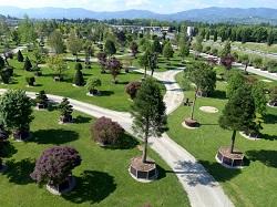 Primul parc pepiniera din lume in orasul Pistoia Italia