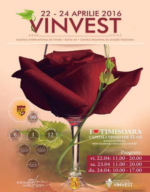 Salonul International de Vinuri VINVEST Timisoara 2016