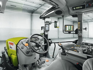 Tractor CLAAS ARION 400 - Cabina