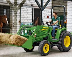 Tractor John Deere 3036 E - Avantaje