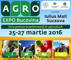 AgroExpo Bucovina martie 2016