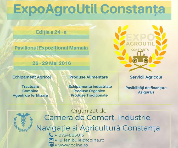 Targul agricol - ExpoAgroUtil Constanta