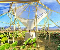 Proiect de sera pentru zone aride secetoase