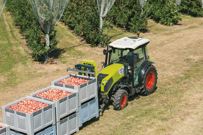 tractor NEXOS - Noi solutii pentru montarea implementelor frontale