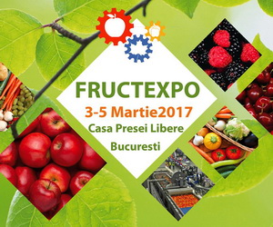 FRUCTEXPO 2017 by Agrifood Logistica - Expozitie de horticultura si logistica - 3-5 martie 2017
