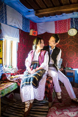 Nunta traditionala romaneasca pentru doi tineri coreeni 2