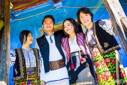 Nunta traditionala romaneasca pentru doi tineri coreeni 3