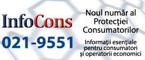 InfoCons 021-9551 Noul numar al Protectiei Consumatorilor