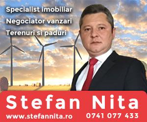 Stefan Nita - Specialist imobiliar - Negociator vanzari - Terenuri si paduri