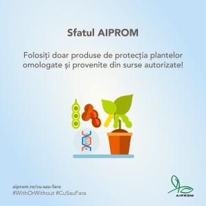 Folositi doar produse de protectia plantelor omologate si provenite din surse autorizate