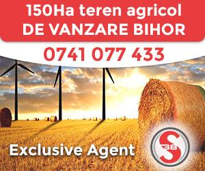 Teren agricol de vazare Bihor - 150Ha
