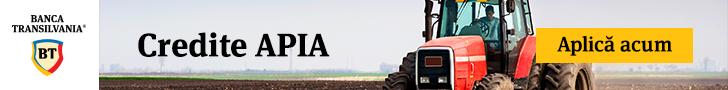 Credite APIA pentru finantarea fermierilor pe baza platilor APIA gestionate in cadrul Campaniei 2017