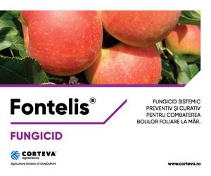 Fontelis® - Fungicid sistemic pentru combaterea bolilor foliare la mar