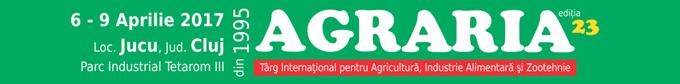 Agraria 2017 - a 23-a editie | Cel mai mare targ agricol din Transilvania