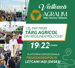 Agralim 2019 - Cel mai mare Targ Agricol din Regiunea Moldovei