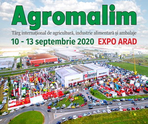 Agromalim 2020 este cea mai mare expoziție de profil din vestul României și una dintre cele mai importante la nivel național