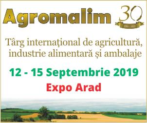 Agromalim 2019 este cea mai mare expoziție de profil din vestul României și una dintre cele mai importante la nivel național