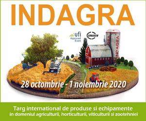 Cel mai mare si important eveniment agricol din Romania, targul INDAGRA 2020