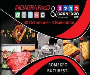 INDAGRA FOOD & CARNEXPO 2019 cel mai important targ international dedicat industriei alimentare